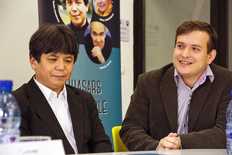 Toshio Hosokawa a Peter Katina