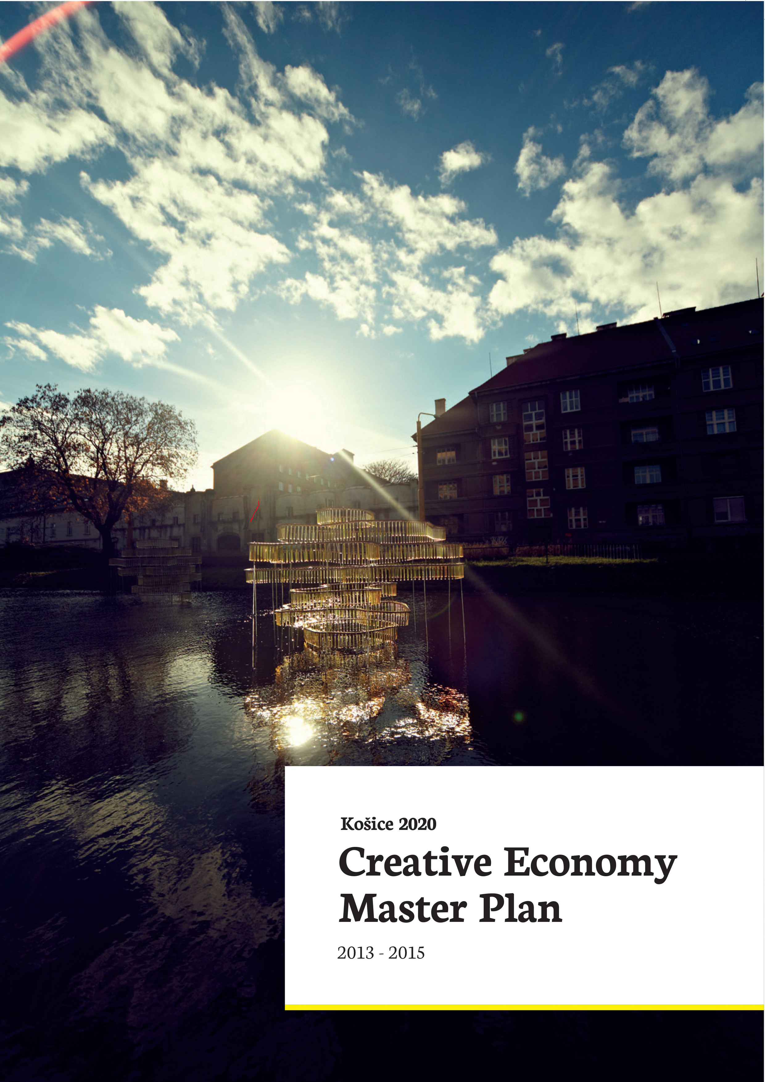 Masterplan for Creative Economy (2013 - 2015)